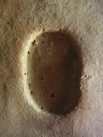 画像1: ツァツァ(チベットの磚仏) 金剛薩捶の歓喜仏(ヴァジュラサットヴァのヤブユム)