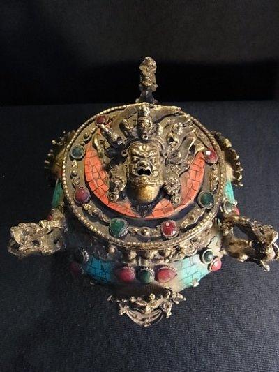 画像2: 香炉 チベット密教法具(アンティーク)