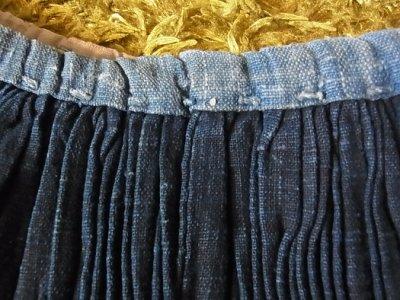 画像2: 貴州 台江苗族 藍染脚絆 一対 1970年代 collection