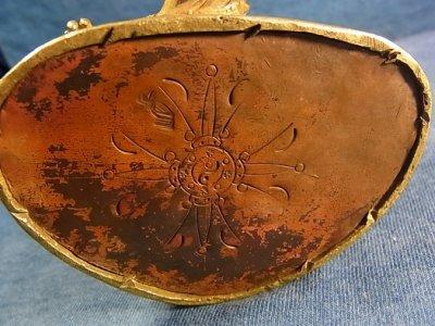 画像2: グリーンターラ (鍍金銅製チベット仏像) アンティーク