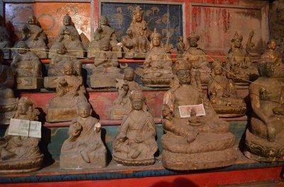 画像3: グリーンターラ (鍍金銅製チベット仏像) アンティーク