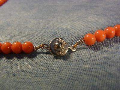 画像2: チベット・珊瑚の数珠玉と星月菩提樹のネックレス