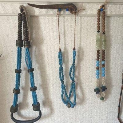 画像2: 竹製管玉の装飾品 (上川アイヌ・時代物)