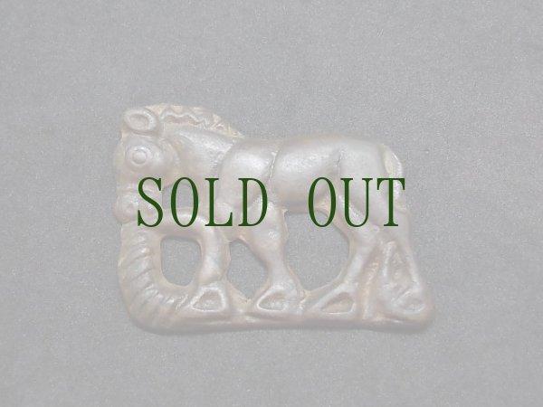 画像1: オルドス青銅器 (トクチャ・Thogchags)  馬 (1)