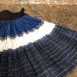 画像3: 貴州 卒節式苗族(木梳苗・ムーシューミャオ族)藍染巻きスカート ヴィンテージ (3)
