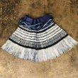 画像2: 貴州省貴定県苗族(小花ミャオ族) 藍染プリーツ巻きスカート  (2)