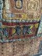 画像9: インド グジャラート州 刺繍・ミラーワーク パッチワーク (178×110cm)・アンティーク (9)