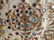 画像7: インド グジャラート州 刺繍・ミラーワーク 天蓋 (180×220cm)・アンティーク (7)