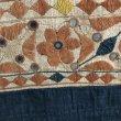 画像9: インド グジャラート州 刺繍・ミラーワーク 天蓋 (180×220cm)・アンティーク (9)