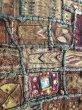 画像5: インド グジャラート州 刺繍・ミラーワーク パッチワーク (178×110cm)・アンティーク (5)
