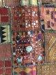 画像3: インド グジャラート州 刺繍・ミラーワーク パッチワーク (178×110cm)・アンティーク (3)