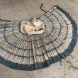 画像6: 貴州省 烏蒙山区昭通式苗族(威寧・ウェイニン) 藍染巻きスカート 火麻製 (6)