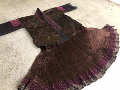 画像3: 貴州省黄平苗族(huan pin miao people) 絹製刺繍ジャケット(アンティーク )