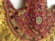 画像9: インド グジャラート州 刺繍・ミラーワーク 壁飾り(アンティーク) (9)